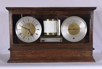 Negretti & Zambra Display Barograph, Clock & Barometer, England