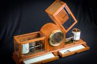 Fine & Rare Art Deco Style Barograph / Clock / Thermograph by Negretti & Zambra (5 of 7)