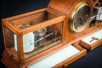 Fine & Rare Art Deco Style Barograph / Clock / Thermograph by Negretti & Zambra (3 of 7)