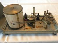 Barograph & Thermograph Combined Instrument by Negretti & Zambra c.1955 England (9 of 9)