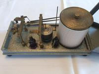 Barograph & Thermograph Combined Instrument by Negretti & Zambra c.1955 England (4 of 9)