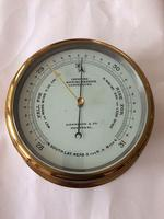 Large Marine Barometer by Harrison & Co, Montreal, Canada