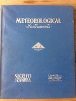 Negretti & Zambra London Standard Meteorological Instruments