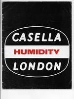 Casella London Humidity 1974