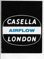Casella London Airflow Ref: 933 c.1974