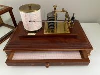 Magnificent Barograph, Manchester c.1900 (2 of 5)