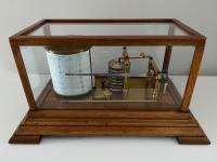 Barograph Light Hardwood Case