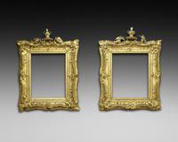 Superb Pair of Early 19th Century Picture Frames