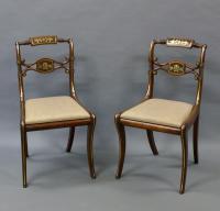 Superb Pair of Regency Side Chairs (3 of 6)