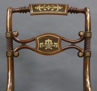 Superb Pair of Regency Side Chairs (2 of 6)