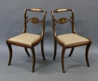 Superb Pair of Regency Side Chairs (5 of 6)