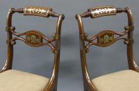 Superb Pair of Regency Side Chairs (4 of 6)