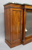 William IV Goncalo Alves Break Front Cabinet (4 of 6)