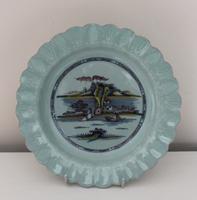 Bristol Delftware Island Plate