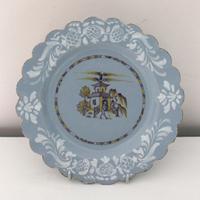 Bristol Delftware Pagoda Plate