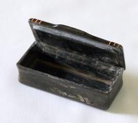 Victorian Inlaid Horn Snuff Box (2 of 5)