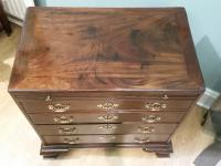 Small George III Mahogany Chest (3 of 8)