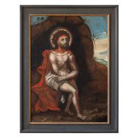 18th Century German School Oil Painting, the Resurrection of Jesus Christ