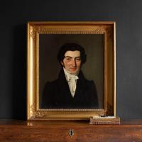 19th Century Danish School Portrait of a Dashing Gentleman, Oil on Canvas (2 of 11)