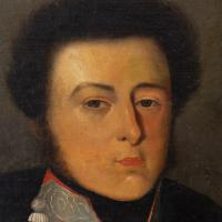 19th Century Portrait of a French Officer, Oil on Canvas (6 of 10)