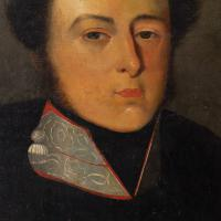 19th Century Portrait of a French Officer, Oil on Canvas (7 of 10)