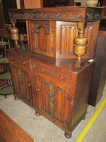 Carved Oak Court Cupboard C.1930