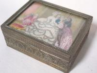 Gilt Metal Trinket Box