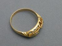 18ct Gold Diamond and Sapphire Ring (4 of 7)