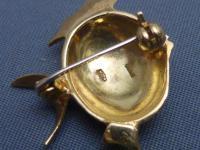 18ct Gold & Enamel Fish Brooch (5 of 6)