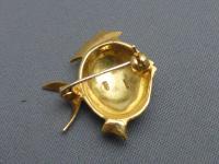 18ct Gold & Enamel Fish Brooch (4 of 6)