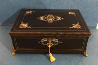 French Jewellery Box C.1850