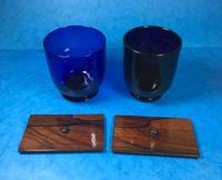 Brazilian Rosewood Twin Canisters & Twin Mixing Mixing Bowl Tea Caddy c.1830 (17 of 19)