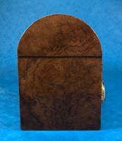 Victorian Burr Walnut Stationary Box with Wedgwood Plaques (8 of 14)