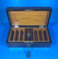 Victorian Burr Walnut Games Box (15 of 16)