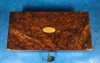 Victorian Burr Walnut Games Box (10 of 16)