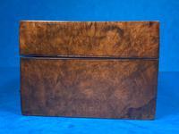 Victorian Burr Walnut Games Box (5 of 16)