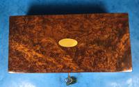 Victorian Burr Walnut Games Box (11 of 16)