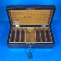 Victorian Burr Walnut Games Box (13 of 16)