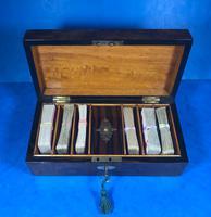 Victorian Burr Walnut Games Box (14 of 16)