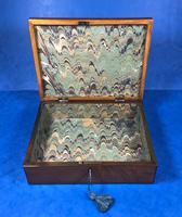 18th Century Applewood Lead Based Lace Box (9 of 12)
