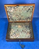 18th Century Applewood Lead Based Lace Box (11 of 12)