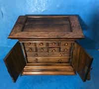 Anglo Chinese Solid Rosewood  Jewellery Cabinet (14 of 25)