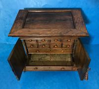 Anglo Chinese Solid Rosewood  Jewellery Cabinet (21 of 25)