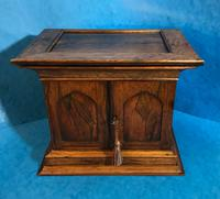 Anglo Chinese Solid Rosewood  Jewellery Cabinet (8 of 25)