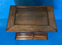 Anglo Chinese Solid Rosewood  Jewellery Cabinet (6 of 25)