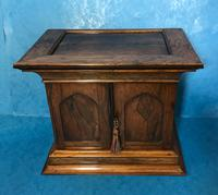 Anglo Chinese Solid Rosewood  Jewellery Cabinet (20 of 25)