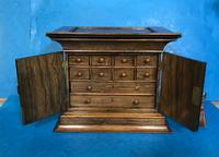 Anglo Chinese Solid Rosewood  Jewellery Cabinet (12 of 25)