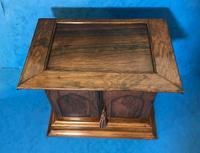 Anglo Chinese Solid Rosewood  Jewellery Cabinet (17 of 25)