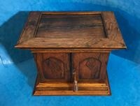 Anglo Chinese Solid Rosewood  Jewellery Cabinet (9 of 25)