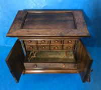 Anglo Chinese Solid Rosewood  Jewellery Cabinet (22 of 25)